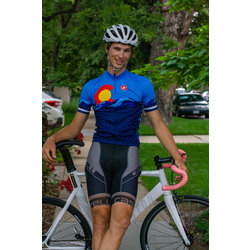 University Bicycles Men's Colorado Jersey