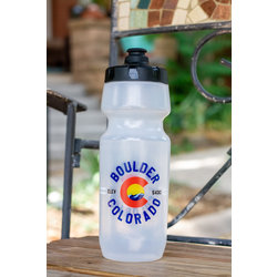 University Bicycles Boulder Colorado Custom Water Bottle
