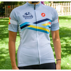 University Bicycles Women's Colorado Geometric Jersey
