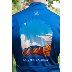 University Bicycles Men's Boulder Colorado Flatiron Jersey