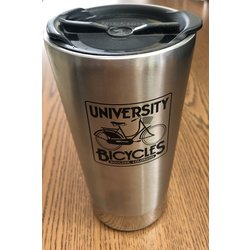 University Bicycles Stainless Mug