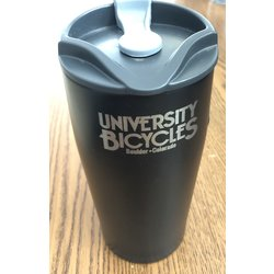 University Bicycles Black Stainless Mug