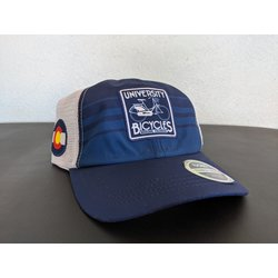 University Bicycles Tech Trucker Navy/White Hat