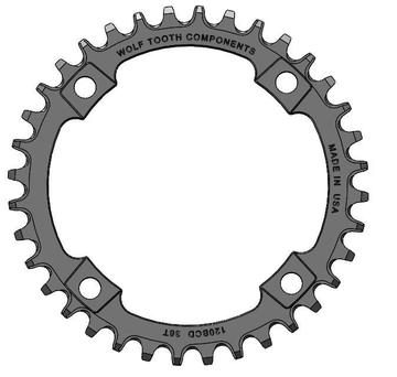 Wolf Tooth Components 120 BCD 36T Chainrings