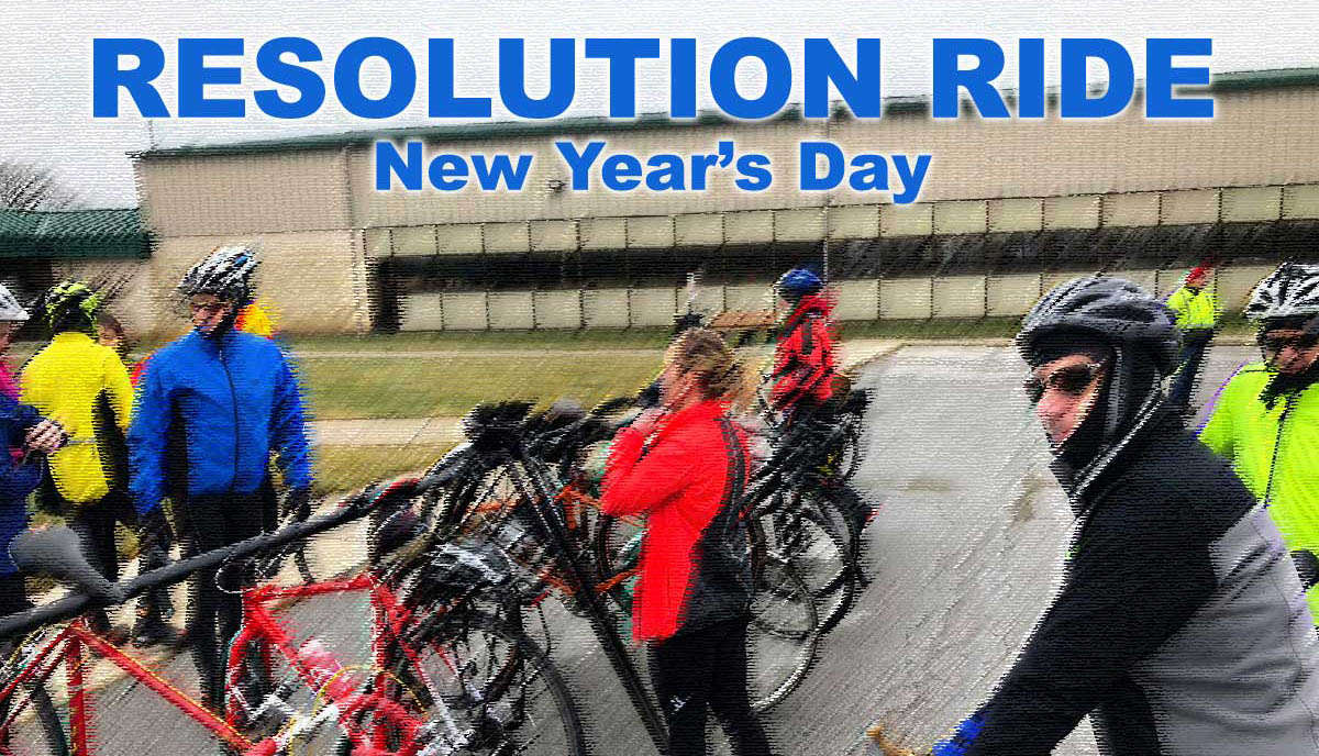 Toledo New Years Day Resolution Bike Ride