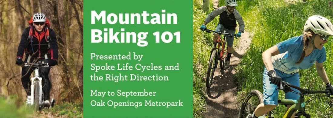 Mountain Biking 101 Toledo Ohio