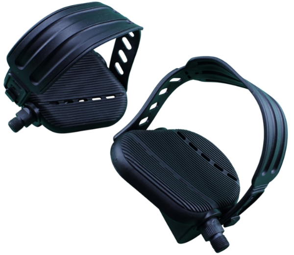 """Fatwheels FATWHEELS Pedals with Straps 1/2"""""""