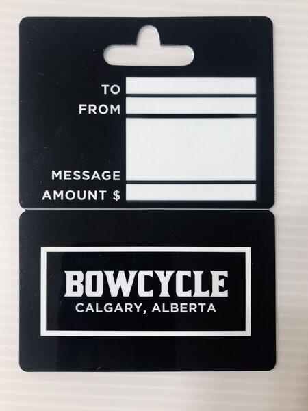 Bow Cycle Gift Card (Physical)