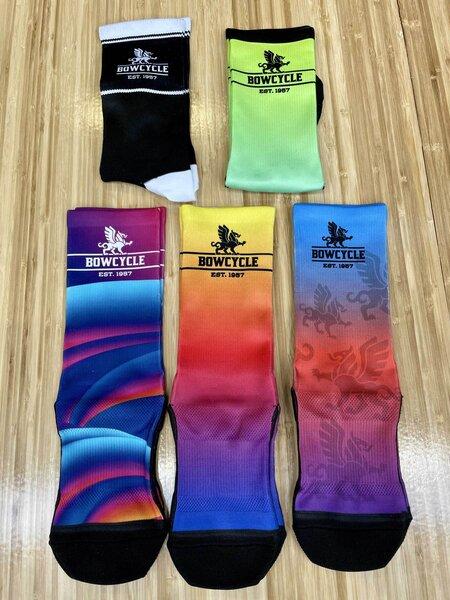 Endur Bow Cycle Custom Socks