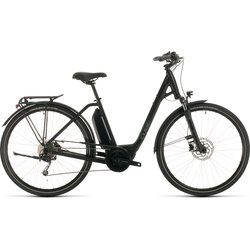 Cube Town Sport Hybrid ONE 400 black´n´grey