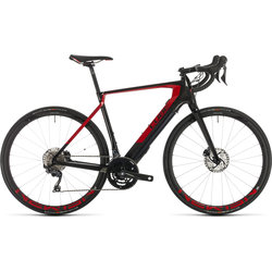 CUBE Bikes Agree Hybrid C:62 SL carbon´n´red