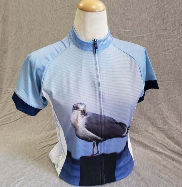 Corner Cycle Custom Seagull Jersey