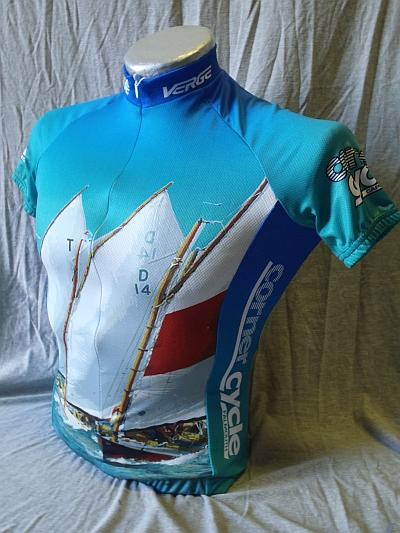Corner Cycle Beatle Cats Fran Grenon Jersey - Men's