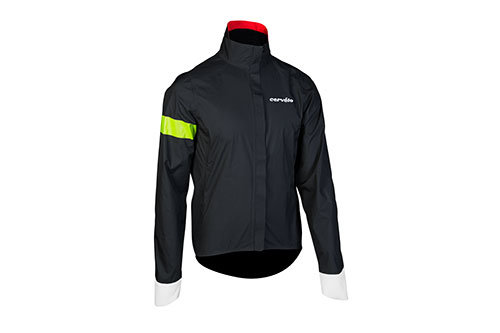 Cervelo Men's Hard Shell Jacket, Black