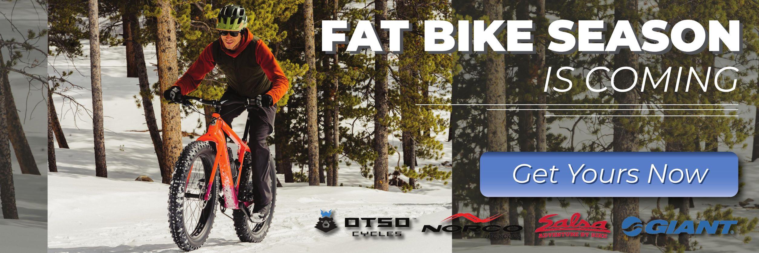 Fat Bike Season is Coming
