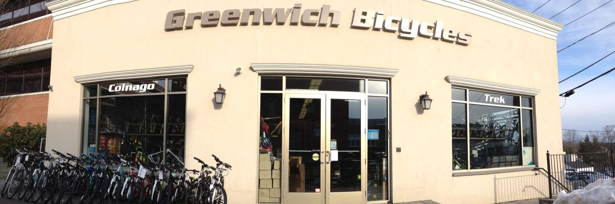Greenwich Bicycles storefront