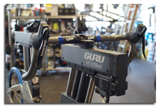Guru Fit System at Greenwich Bicycles