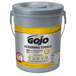 GOJO GOJO 72CT Textured Scrub Wipes