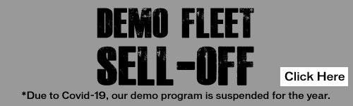 Demo Fleet Sell Off Suspended This Year Due to Covid-19