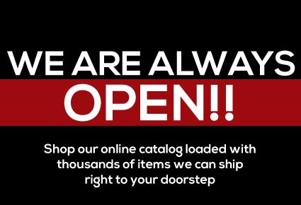 We are Always Open, Shop Online