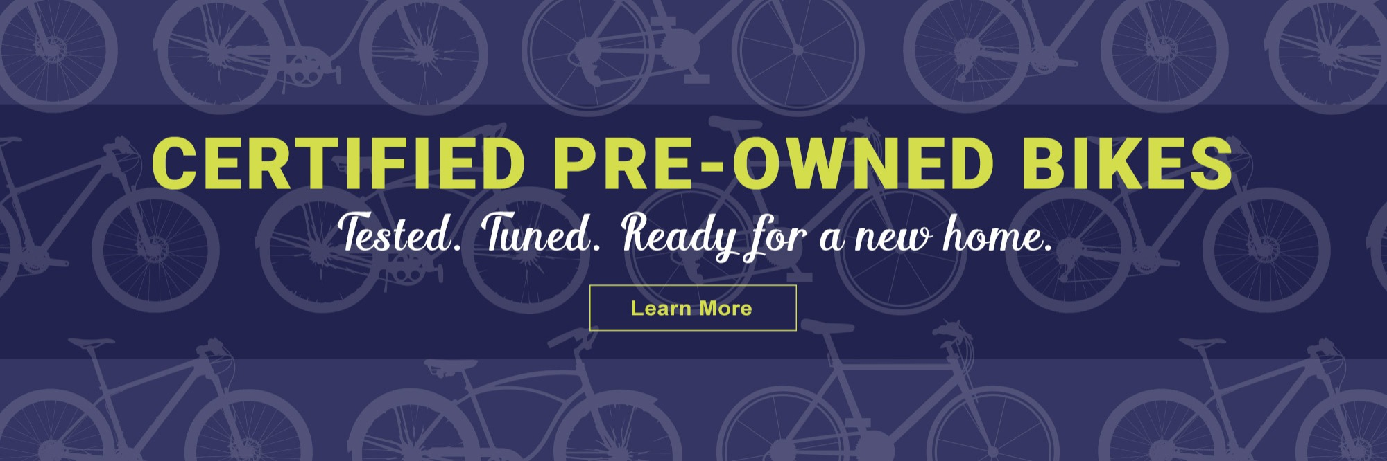 Certified Pre-Owned Bikes