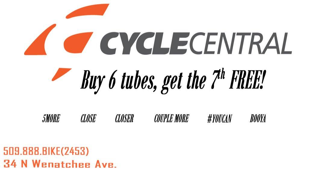 Buy 6 tubes, get one free
