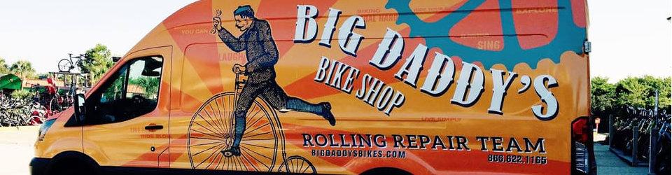 big daddys bike shop rolling repair team