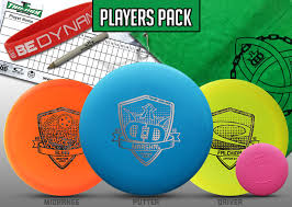 Dynamic Discs Trilogy Challenge Players Pack