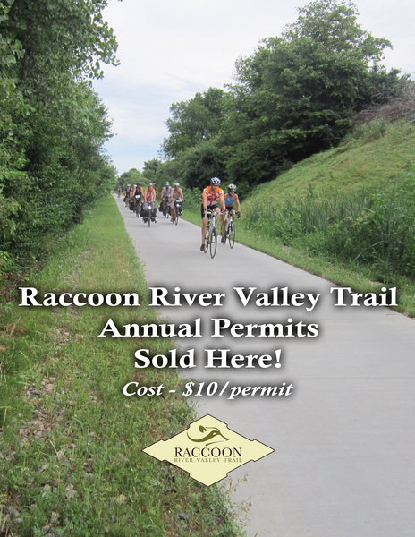 RRVT Raccoon River Valley Trail 2019 Annual Pass