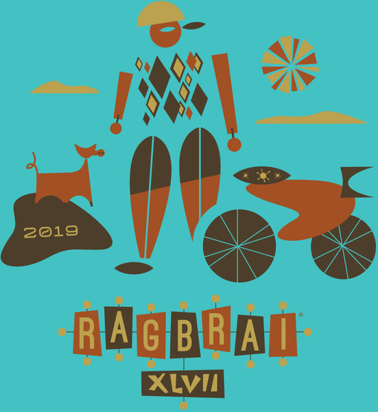 Bike World Ragbrai 2019 T-shirt