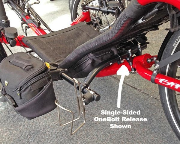 Terra Cycle Seatside Mount Kit (Catrike)