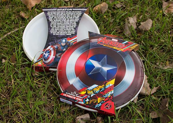 Dynamic Discs Captain America Aviator
