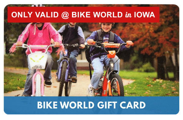 Bike World Gift Card