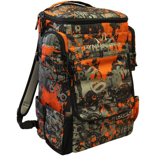 Dynamic Discs Ranger Bag Color: Rock and Roll