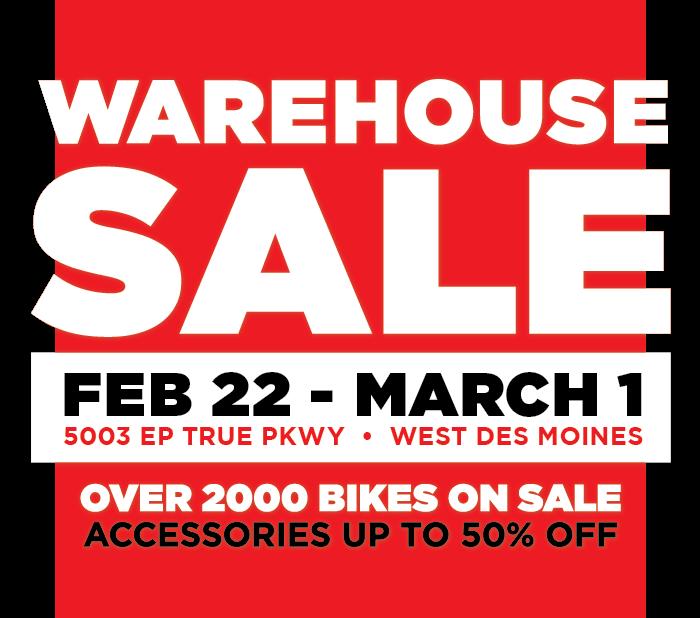 Warehouse Sale Bike World
