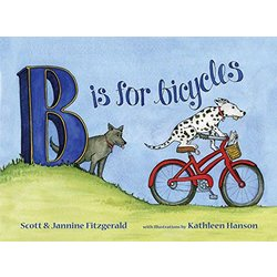 Buddy Pegs B is for Bicycle