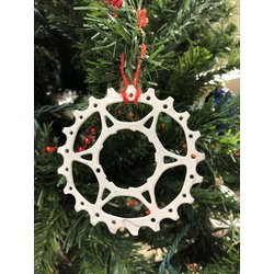 Bike World UpCycling Ornaments