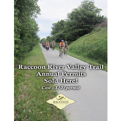 RRVT Raccoon River Valley Trail Annual Pass