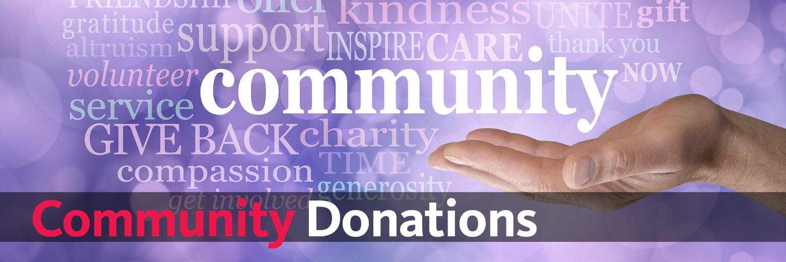 Community Donations