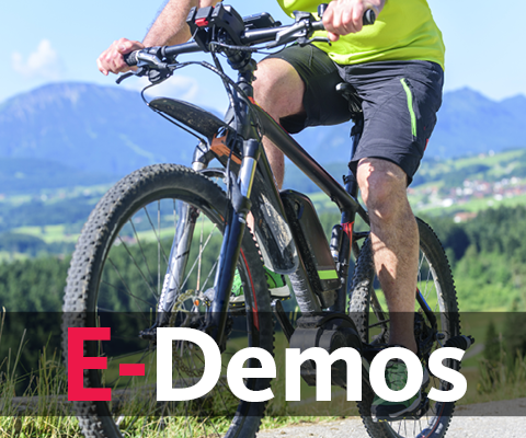 Contact us to schedule your Ebike demo today.
