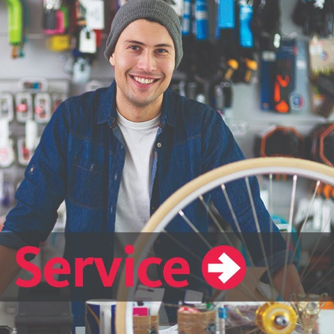 Recycled Cycles is a full-service bike shop with certified mechanics trained to tune and repair all brands of bicycles.