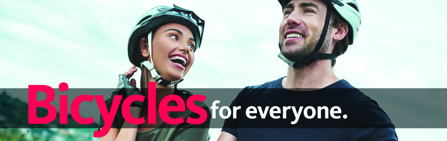 Bicycles for Everyone.