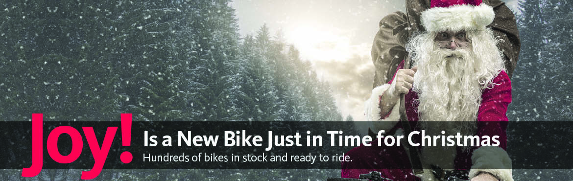Joy! Is a New Bike Just in Time for Christmas.