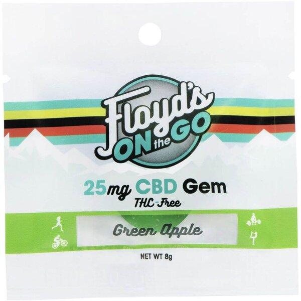 Floyd's of Leadville Green Apple Isolate CBD Gems