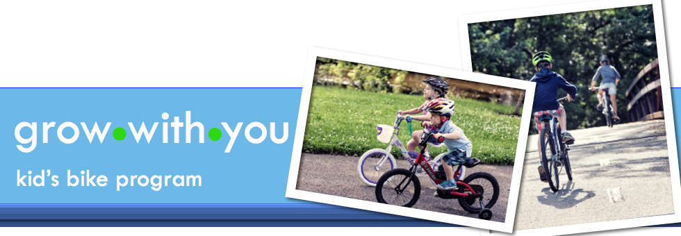 A&B Cycle Has your Kid's bike Program - Grow with You!
