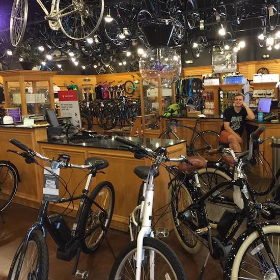Bikes & Gear at A&B Cycle