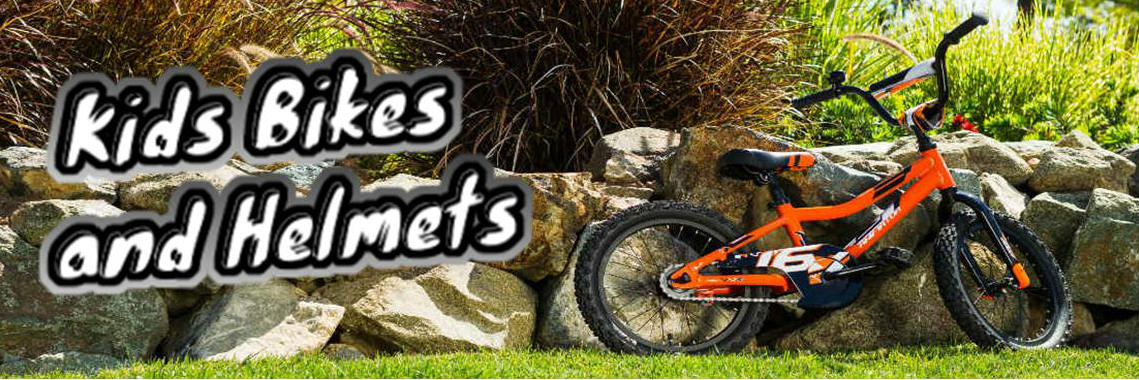 Kids Bikes and Helmets