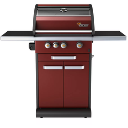 Fervor Fervor IC300-R 3-Burner Propane Grill Red