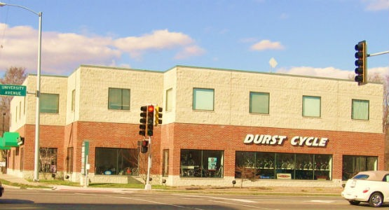 Durst Cycle and Fitness store front