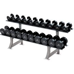 Hammer Strength Two-Tier Dumbbell Rack